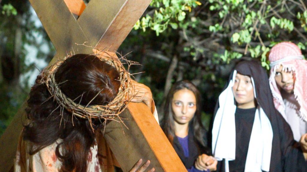 Via Sacra no município de Búzios, RJ, será transmitida online. (Foto: Divulgação)