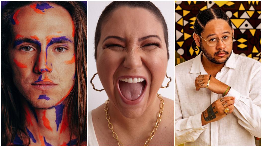 Vitor Kley, Maria Rita e Emicida estão entre as atrações musicais. (Foto: Divulgação)