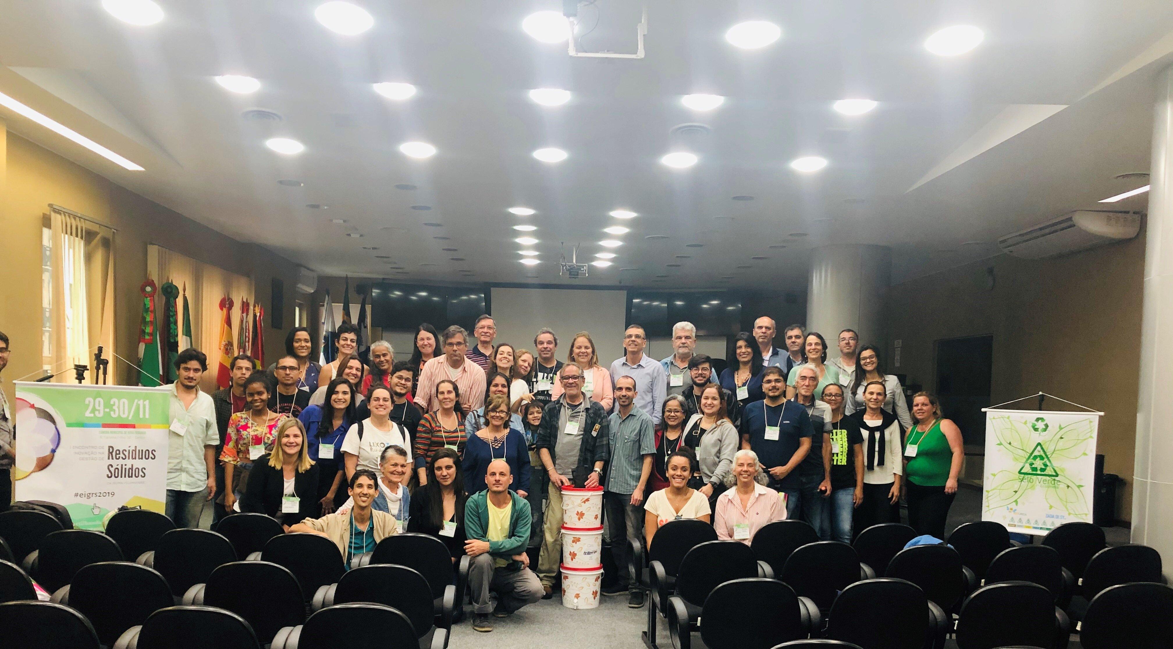 1º Encontro de Inovação na Gestão de Resíduos Sólidos da Serra Fluminense, realizado nos dias 29 e 30 de novembro de 2019. (Foto: Divulgação)