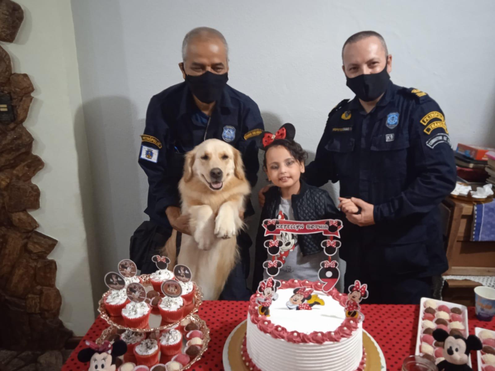 Guarda Civil de Petrópolis participa de festa. (Foto: Divulgação)