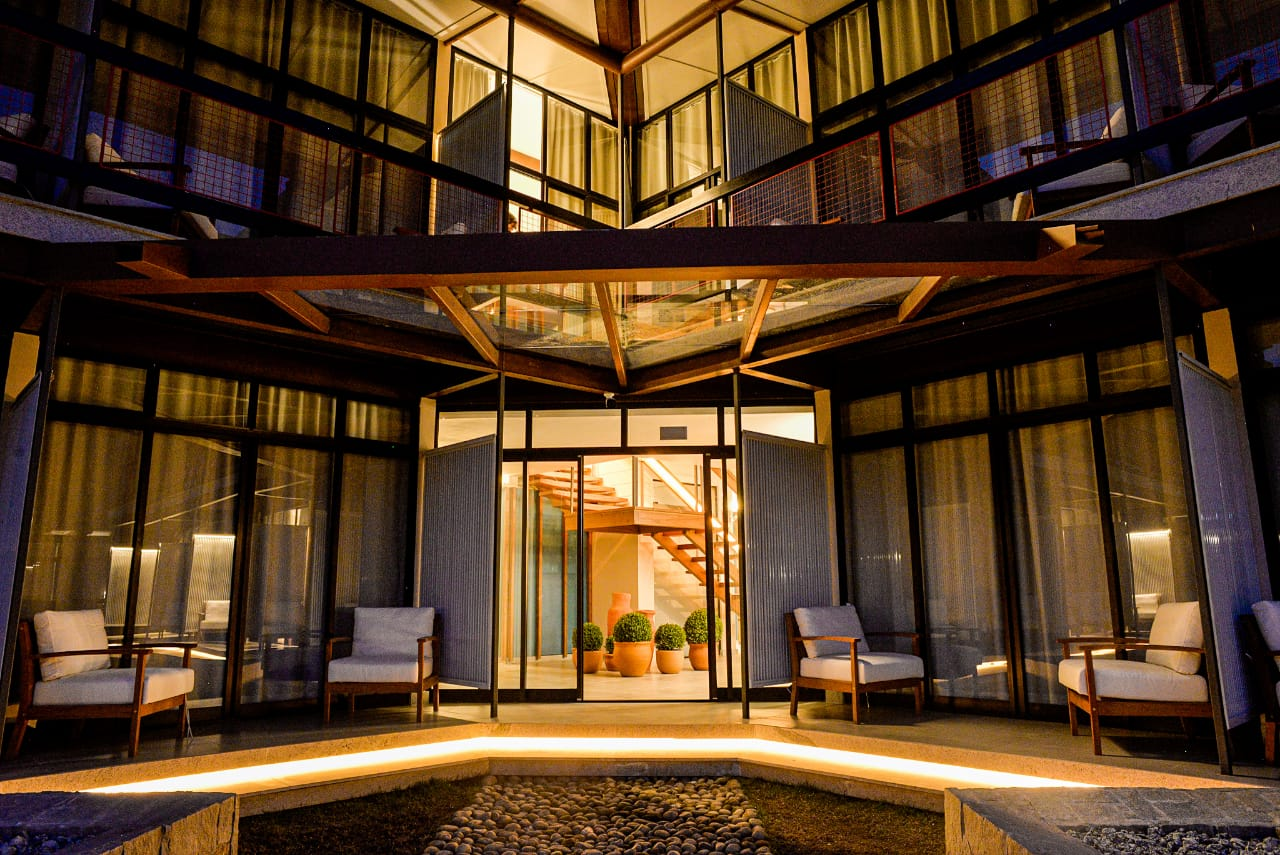 Instalações do Hotel Sesc Nova Friburgo. (Foto:Erbs Jr.)